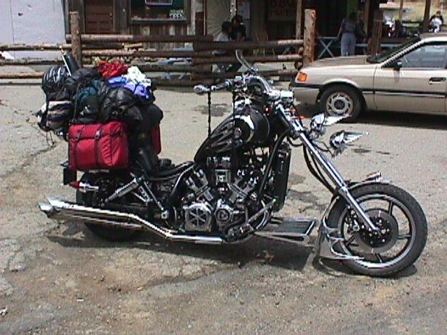 moto vmax custom